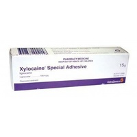 Xylocaine Special Adhesive 10% 15g Tube #1101