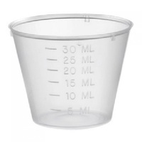 Medicine Measuring Cup 30ml Disp. #6319 - 50pcs