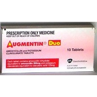 Augmentin Duo Tab 500mg 10pk