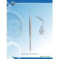 Probe 3-6-9-12mm with Marking Anatomical Hollow Handle 6mm Ø