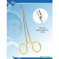 Tungsten Carbide Needle Holder Mayo-Hegar Straight 13cm