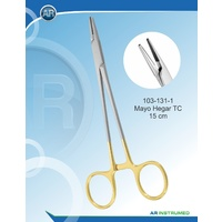 Tungsten Carbide Needle Holder Mayo-Hegar Straight 15cm