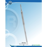 Round Scalpel Handle Straight