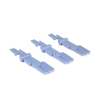 X-Ray Film Holders Reusable Straight End - 3pcs