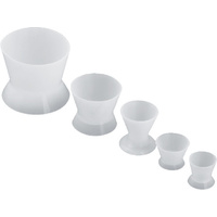Silicone Mixing Cups (5pcs/set) Non-Stick Well