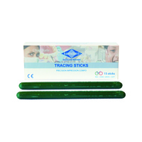 Impression Compound Sticks Green Soft 15pcs