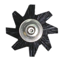 Mounted STARBRUSH Black 22mm (12pk) with Mandrel