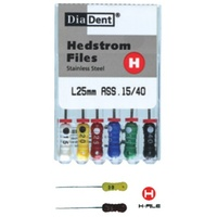 Hedstrom H File 25mm - 6pcs
