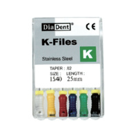 K Files 25mm - 6pcs