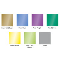 Briteguard Mouthguard Blanks (127mm Square) - PEARL COLOURS 10 PACK