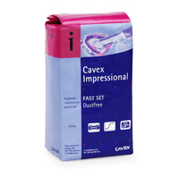 Cavex Impressional Alginate Fast Set 500g 10 PACKETS Dental Impression Casting