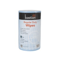 Regular Duty Wipes, 65m Roll, 130 Pieces, 30x50cm