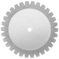 Diamond Disc Saw Flexible Double Sided .17 x 22mm - UNMOUNTED