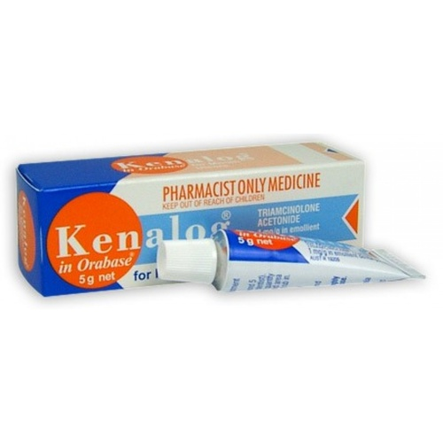 Kenalog In Orabase Ointment 5g Tube