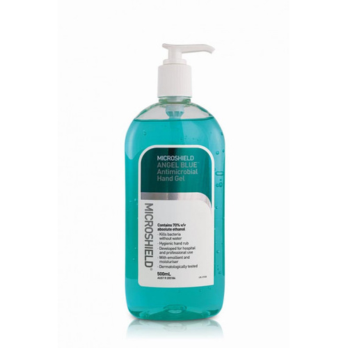 Microshield ANGEL BLUE Antimicrobial Hand Gel 70% ethanol