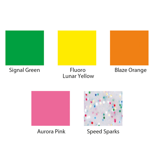 Briteguard Mouthguard Blanks (127mm Square) - DESIGNER COLOURS