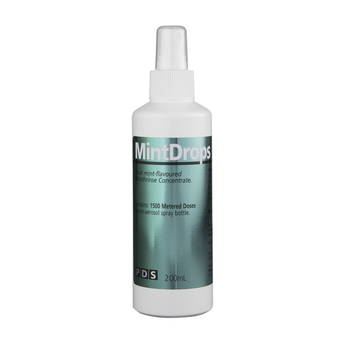 Mintdrops Mouthrinse 200ml No Alcohol