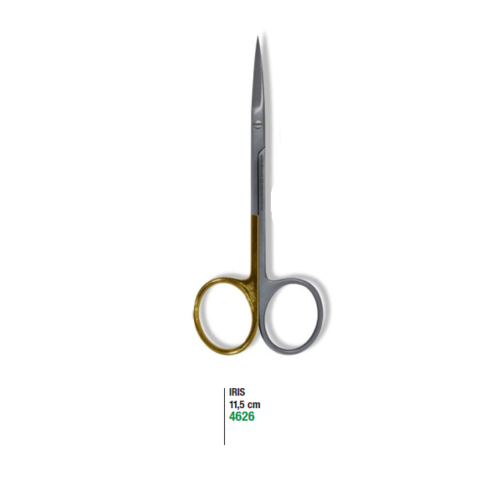 Iris Surgical Scissors 11.5cm Straight Micro Section Super Cut