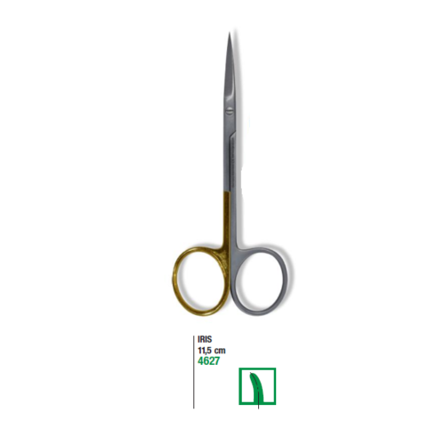 Iris Surgical Scissors 11.5cm Curved Micro Section Super Cut