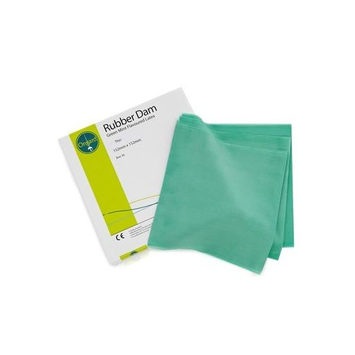 Premium Rubber Dam - Mint Green THIN 36pcs
