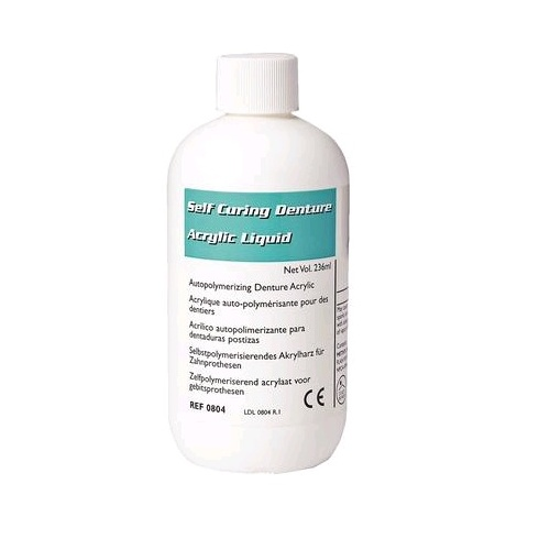 LANG Self-Cure Denture Acrylic Liquid 236ml